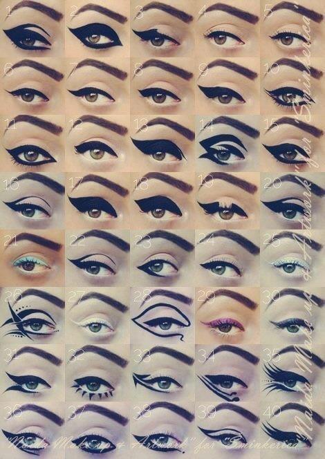different_eyeliner_looks