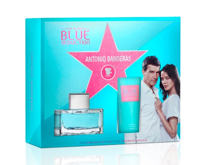 BANDERAS_BLUE SED WOMAN_EDT50ML+BL100ML_X15 - 79,00lei