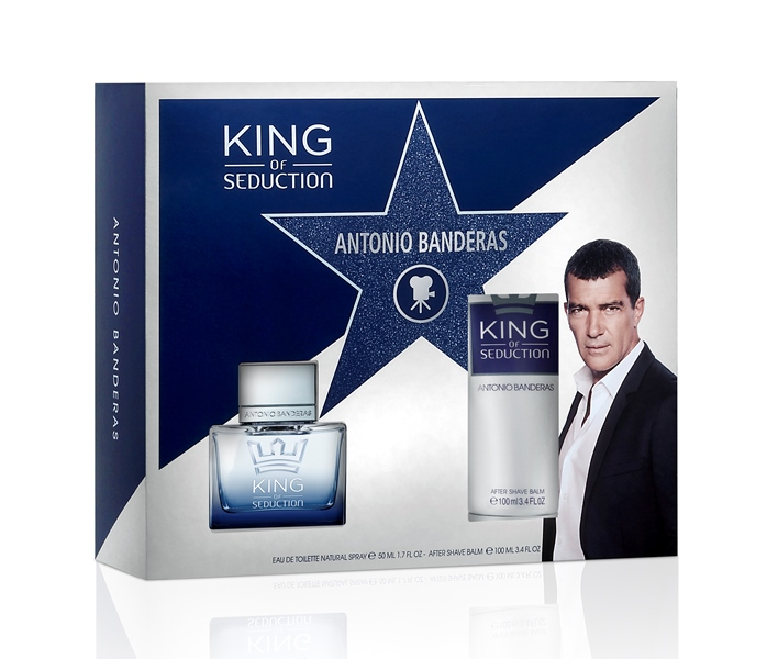 BANDERAS_KING OF SED_EDT50ML+ASB100ML_X15, 85.00lei