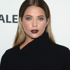 "NEW YORK, NY - OCTOBER 11: Actress Ashley Benson attends PaleyFest New York 2015 for ""Pretty Little Liars"" at The Paley Center for Media on October 11, 2015 in New York City. (Photo by Ben Gabbe/Getty Images)"